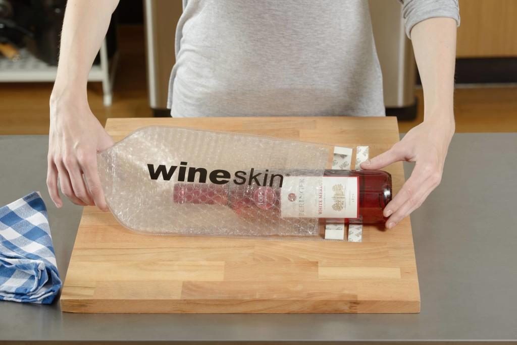 How Does Wineskin Work Wineskin Bottle Transport Bag